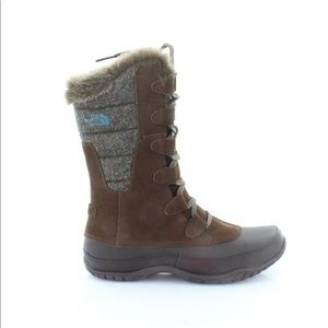 The North Face Mid Calf Nuptse Boots, 9